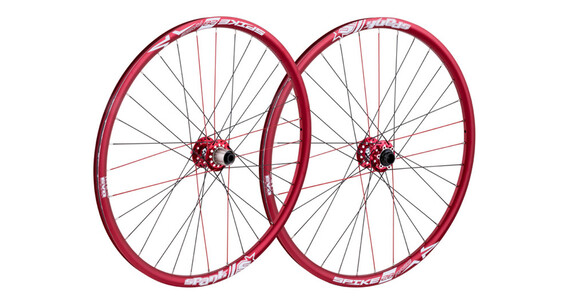 "Spank Spike Race33 Bead Bite DH LRS 27,5"" VR: 20/110 mm, HR: 12/135 mm red"